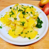 Schwäbischer Kartoffelsalat nach Oma Maria